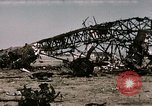 Image of bomb wrecked aircraft Tunis Tunisia, 1943, second 8 stock footage video 65675066356