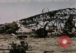 Image of bomb wrecked aircraft Tunis Tunisia, 1943, second 9 stock footage video 65675066356