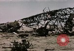 Image of bomb wrecked aircraft Tunis Tunisia, 1943, second 10 stock footage video 65675066356