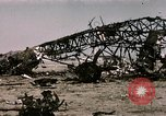 Image of bomb wrecked aircraft Tunis Tunisia, 1943, second 11 stock footage video 65675066356