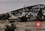 Image of bomb wrecked aircraft Tunis Tunisia, 1943, second 12 stock footage video 65675066356