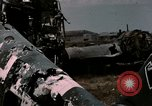 Image of bomb wrecked aircraft Tunis Tunisia, 1943, second 6 stock footage video 65675066358