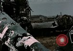 Image of bomb wrecked aircraft Tunis Tunisia, 1943, second 7 stock footage video 65675066358