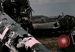 Image of bomb wrecked aircraft Tunis Tunisia, 1943, second 8 stock footage video 65675066358