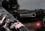 Image of bomb wrecked aircraft Tunis Tunisia, 1943, second 9 stock footage video 65675066358