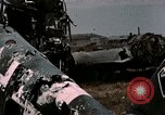 Image of bomb wrecked aircraft Tunis Tunisia, 1943, second 10 stock footage video 65675066358