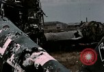 Image of bomb wrecked aircraft Tunis Tunisia, 1943, second 12 stock footage video 65675066358