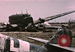 Image of bomb wrecked aircraft Tunis Tunisia, 1943, second 12 stock footage video 65675066363