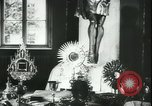 Image of Catholic relics in World War 2 Poland  Kowel Poland, 1944, second 4 stock footage video 65675066375
