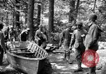 Image of gas obstacle course Maryland United States USA, 1943, second 1 stock footage video 65675066399