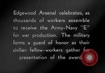 Image of Army-Navy 'E' Award Maryland United States USA, 1942, second 10 stock footage video 65675066403