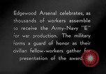 Image of Army-Navy 'E' Award Maryland United States USA, 1942, second 12 stock footage video 65675066403