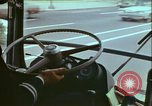 Image of city tour bus Washington DC USA, 1972, second 9 stock footage video 65675066413
