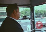 Image of city tour bus Washington DC USA, 1972, second 10 stock footage video 65675066413