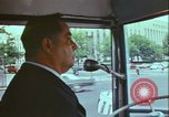 Image of city tour bus Washington DC USA, 1972, second 11 stock footage video 65675066413