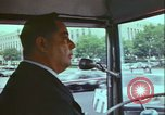 Image of city tour bus Washington DC USA, 1972, second 12 stock footage video 65675066413