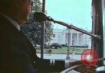 Image of city tour bus Washington DC USA, 1972, second 6 stock footage video 65675066416