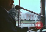Image of city tour bus Washington DC USA, 1972, second 7 stock footage video 65675066416