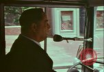 Image of city tour bus Washington DC USA, 1972, second 4 stock footage video 65675066422