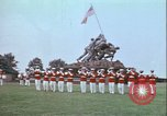 Image of Marine Corps War Memorial Arlington Virginia USA, 1972, second 1 stock footage video 65675066428