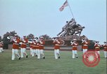 Image of Marine Corps War Memorial Arlington Virginia USA, 1972, second 7 stock footage video 65675066428