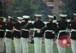 Image of United States Marine Corps drill Arlington Virginia USA, 1972, second 1 stock footage video 65675066430