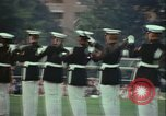 Image of United States Marine Corps drill Arlington Virginia USA, 1972, second 2 stock footage video 65675066430