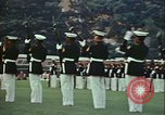 Image of United States Marine Corps drill Arlington Virginia USA, 1972, second 5 stock footage video 65675066430