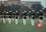 Image of United States Marine Corps drill Arlington Virginia USA, 1972, second 7 stock footage video 65675066430