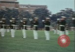 Image of United States Marine Corps drill Arlington Virginia USA, 1972, second 8 stock footage video 65675066430
