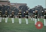 Image of United States Marine Corps drill Arlington Virginia USA, 1972, second 9 stock footage video 65675066430