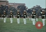 Image of United States Marine Corps drill Arlington Virginia USA, 1972, second 10 stock footage video 65675066430