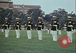 Image of United States Marine Corps drill Arlington Virginia USA, 1972, second 11 stock footage video 65675066430