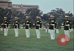 Image of United States Marine Corps drill Arlington Virginia USA, 1972, second 12 stock footage video 65675066430