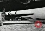 Image of night bombing raid by German He 111 aircraft Russia Soviet Union, 1941, second 1 stock footage video 65675066443