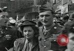 Image of Victory in Europe Day London England United Kingdom, 1945, second 5 stock footage video 65675066458