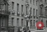 Image of Victory in Europe Day London England United Kingdom, 1945, second 7 stock footage video 65675066459