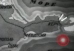 Image of recapturing of Kerch Kerch Peninsula Ukraine, 1944, second 5 stock footage video 65675066461