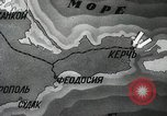 Image of recapturing of Kerch Kerch Peninsula Ukraine, 1944, second 8 stock footage video 65675066461
