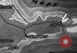 Image of recapturing of Kerch Kerch Peninsula Ukraine, 1944, second 9 stock footage video 65675066461