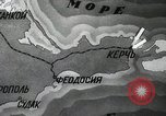 Image of recapturing of Kerch Kerch Peninsula Ukraine, 1944, second 10 stock footage video 65675066461