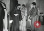 Image of Parisian designer dresses Paris France, 1944, second 6 stock footage video 65675066482