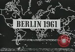 Image of East and West Berlin Germany, 1961, second 3 stock footage video 65675066497