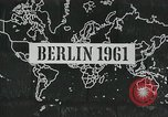 Image of East and West Berlin Germany, 1961, second 6 stock footage video 65675066497