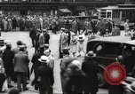 Image of pedestrians New York City USA, 1933, second 2 stock footage video 65675066514