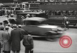 Image of pedestrians New York City USA, 1933, second 7 stock footage video 65675066514