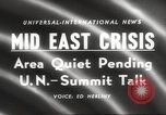 Image of Middle East crisis Middle East, 1958, second 2 stock footage video 65675066516