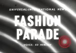 Image of models New York United States USA, 1958, second 1 stock footage video 65675066519