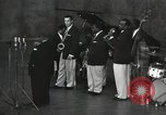 Image of Jimmy Rushing performing onstage with his combo Germany, 1960, second 2 stock footage video 65675066556