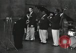 Image of Jimmy Rushing performing onstage with his combo Germany, 1960, second 3 stock footage video 65675066556